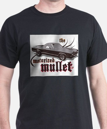 motorized mullet (white) T-Shirt