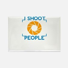 i shoot people Magnets