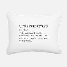 Unpresidented Rectangular Canvas Pillow