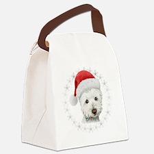 Cute Westie Canvas Lunch Bag