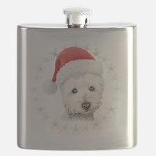 Cute Westie Flask
