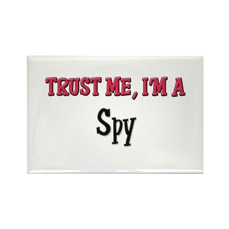 Trust Me I'm a Spy Rectangle Magnet