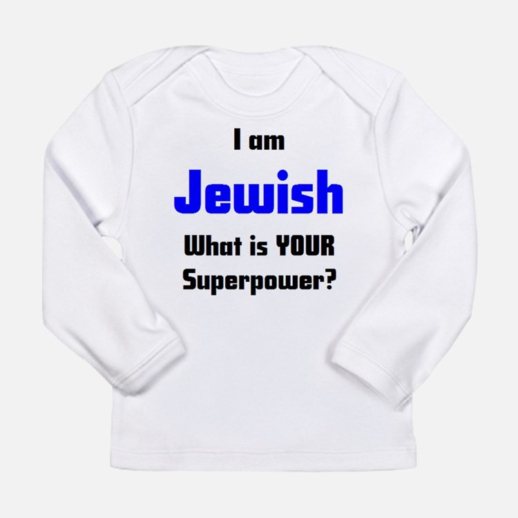 i am jewish Long Sleeve T-Shirt