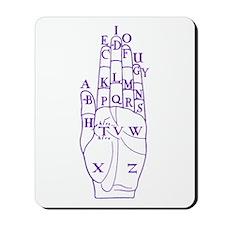 DALGARNO HAND BLUE Mousepad