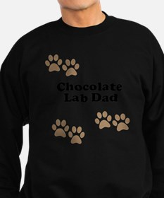 Chocolate Lab Dad Sweatshirt