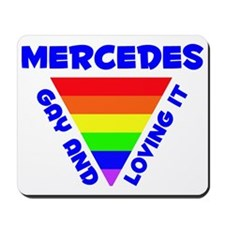 Mercedes Gay Pride (#005) Mousepad