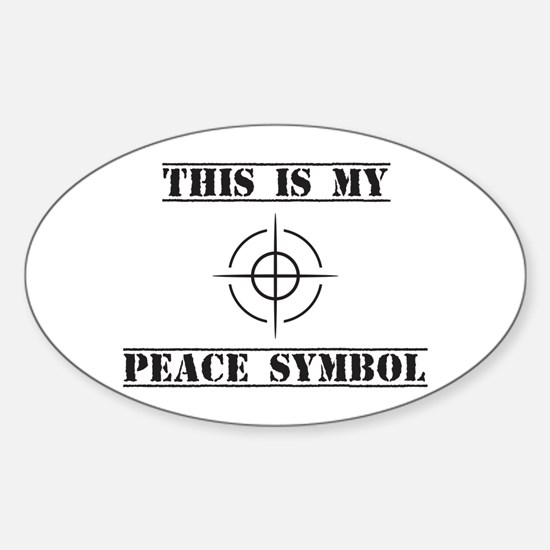 This is My Peace Symbol Decal