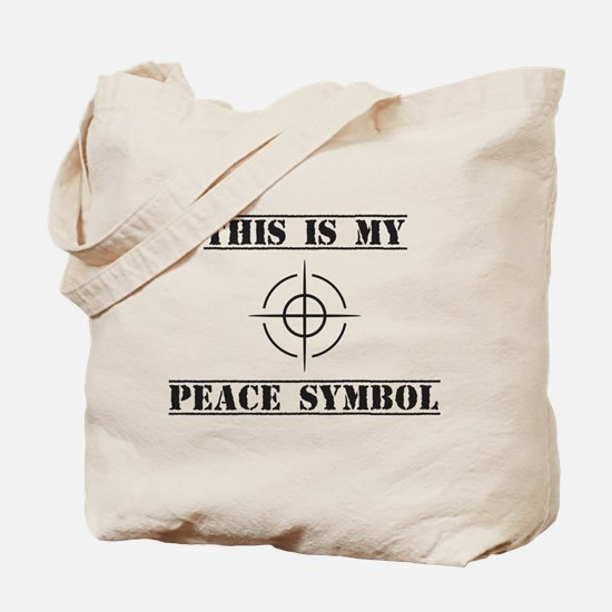 This is My Peace Symbol Tote Bag
