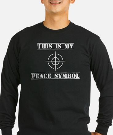 This Is My Peace Symbol Long Sleeve T-Shirt
