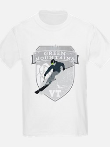 Ski Green Mountains T-Shirt