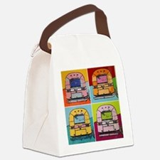 Airstream Pop Art painting Canvas Lunch Bag