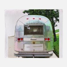 Vintage Airstream Collection Throw Blanket