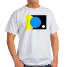 FLAG OF EARTH.... Ash Grey T-Shirt