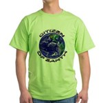 CITIZEN OF EARTH.... Green T-Shirt