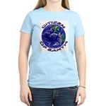CITIZEN OF EARTH.... Women's Pink T-Shirt