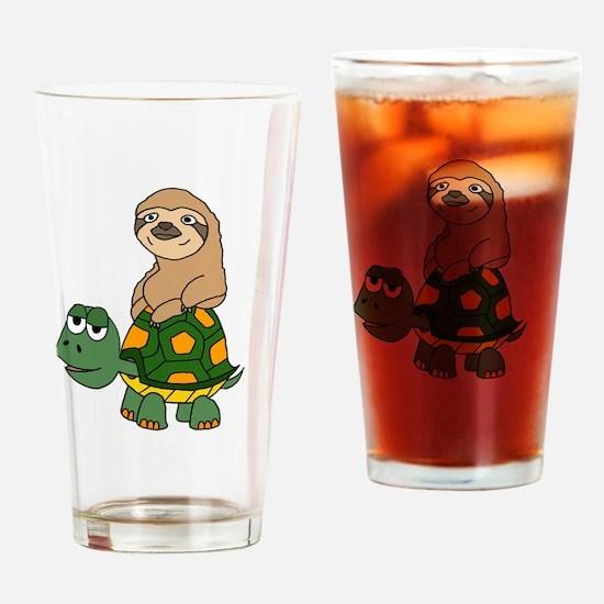 Unique Turtle Drinking Glass