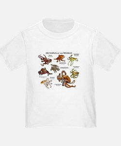 Octopus of the World T-Shirt