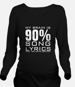 MY BRAIN IS 90% SONG LYRICS AND 10% MOVIE QUOTES L