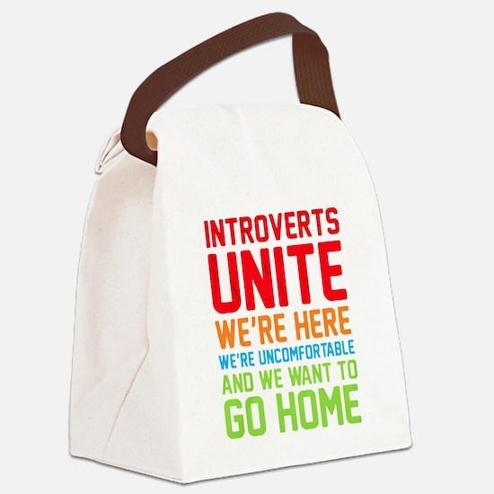 Unique Deserve Canvas Lunch Bag