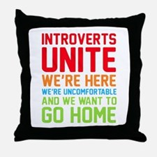 Unique Deserve Throw Pillow