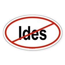 IDES Oval Decal