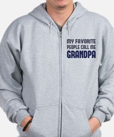 My Favorite People Call Me Grandpa Sweatshirt