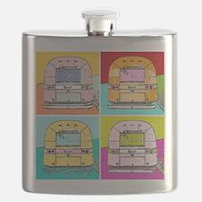 Cute Airstream Flask