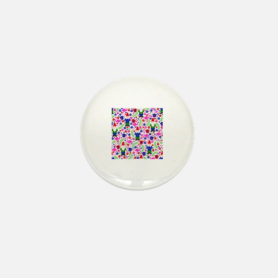 Cute Kitsch garden Mini Button
