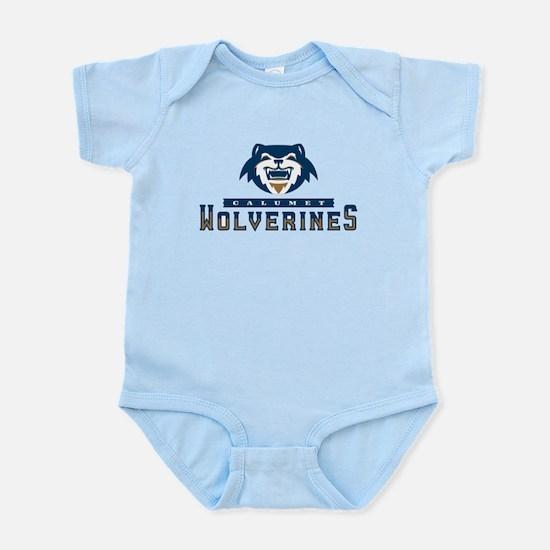 Wolverines Primary Logo Body Suit