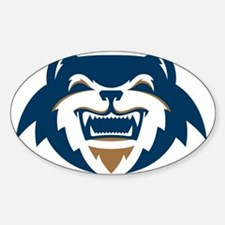 Wolverines Head Logo Decal