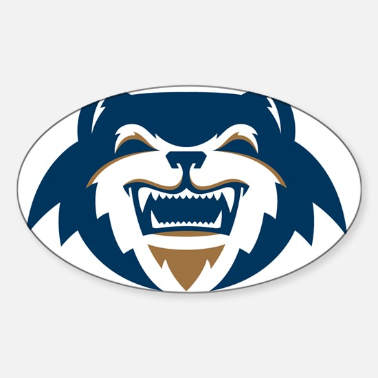 Wolverines Head Logo Decal