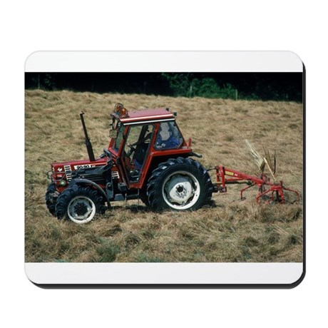 Red Tractor Roaming Mousepad