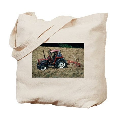 Red Tractor Roaming Tote Bag