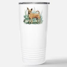 Cute Chihuahua art Travel Mug