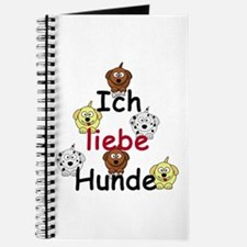 Ich Liebe Hunde - I love dogs Journal