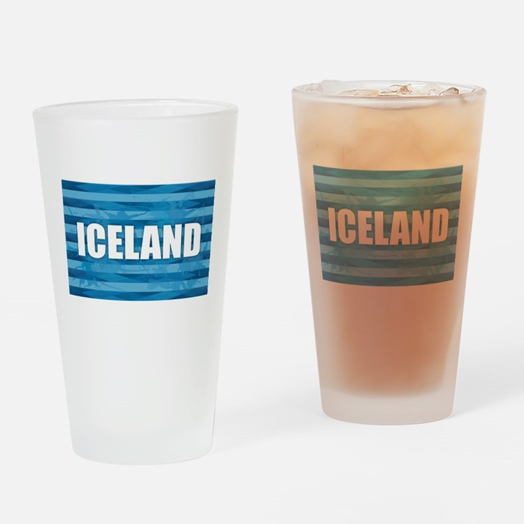 Iceland Drinking Glass