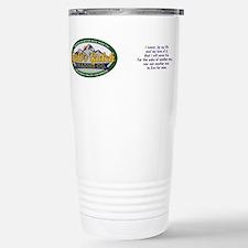 Unique Ayn Travel Mug