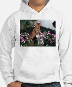 bengal on statue Sweatshirt