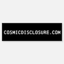 Cosmic Disclosure Bumper Bumper Bumper Sticker