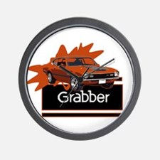 Grabber Maverick Wall Clock