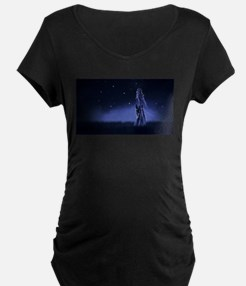 Woman Beneath the Stars Maternity T-Shirt