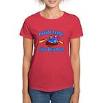 Paddle Faster Canoe Women's Dark T-Shirt