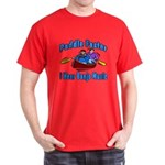 Paddle Faster Canoe Dark T-Shirt