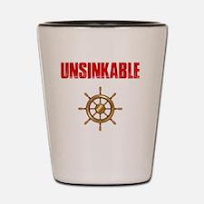Unique Paddle Shot Glass