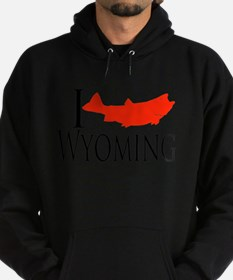 I fish Wyoming Sweatshirt