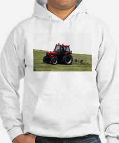 A Red Tractor On The Go Hoodie