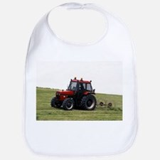 A Red Tractor On The Go Bib