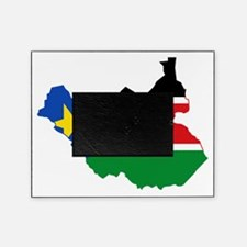 Cute South sudan flag Picture Frame