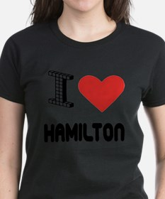 I Love Hamilton City T-Shirt