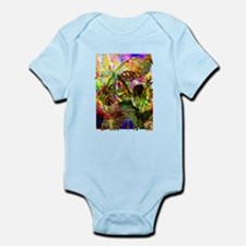 Tropical Plants and Flowers Body Suit